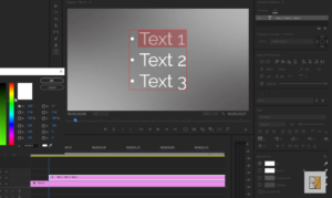 Adding Bullet Points in Premiere Pro